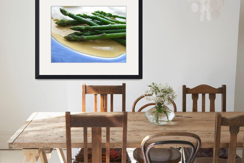 """Lindie Bistro Asparagus Spears&quot  (2010) by LindieRacz"