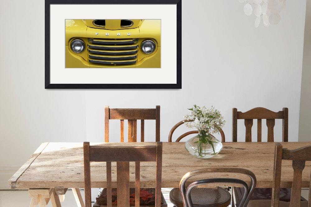"""""""Vintage Truck Grill&quot  (2007) by myperspective"""