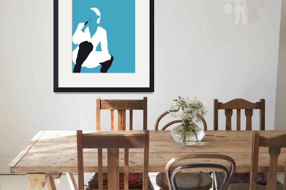 """""""No185 MY MaryJBligE Minimal Music poster&quot  by Chungkong"""