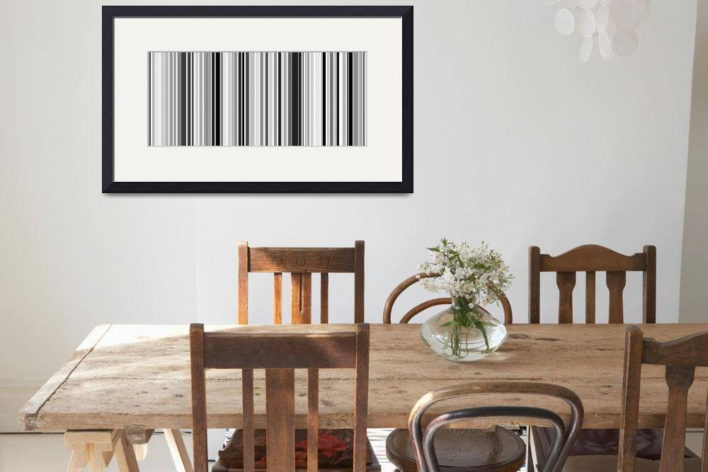 """Silver Bar Code&quot  by karynlewis"