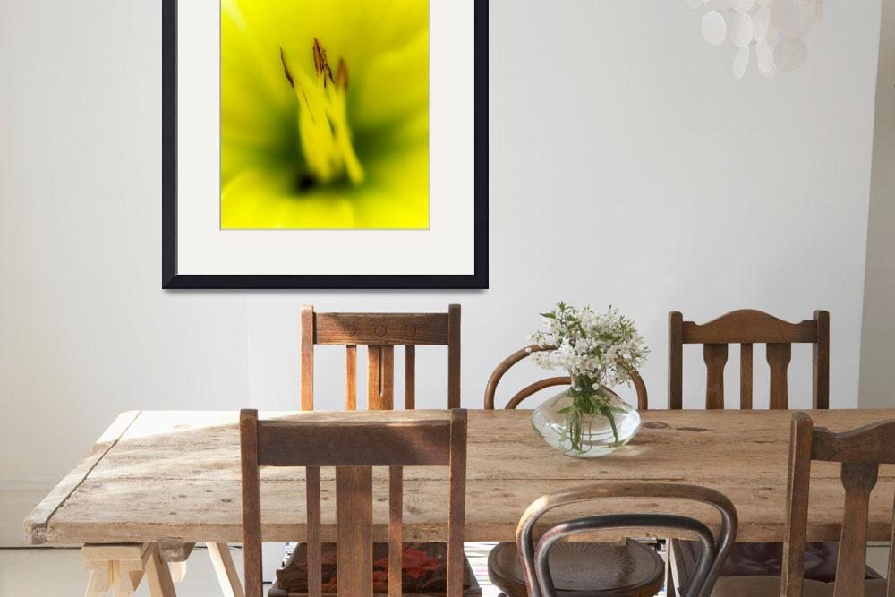 """""""Yellow Lily&quot  (2012) by Chileman"""