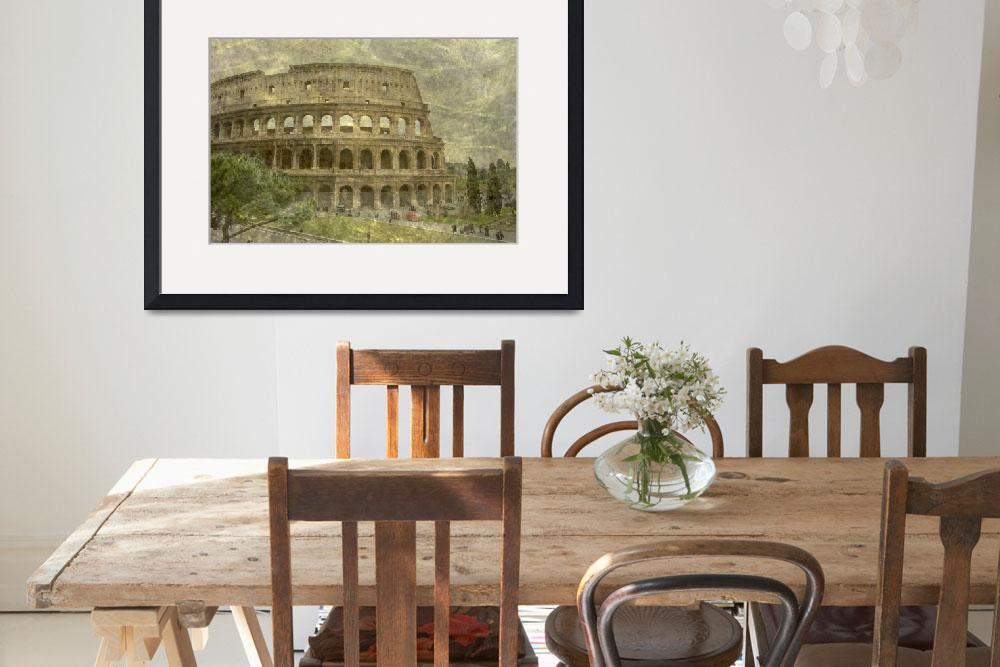 """""""colosseo / coliseum&quot  by MonicaPalermo"""