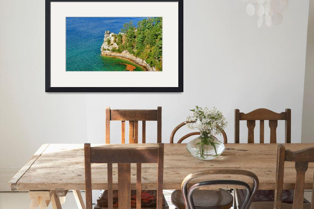 """""""Pictured Rocks&quot  (2011) by patsphotos"""