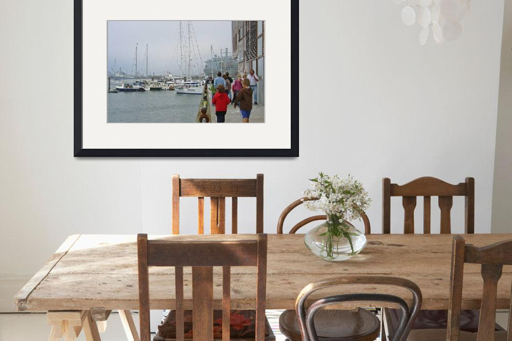 """""""Falmouth Harbour - 02  (15078-RDA)""""  (2007) by rodjohnson"""