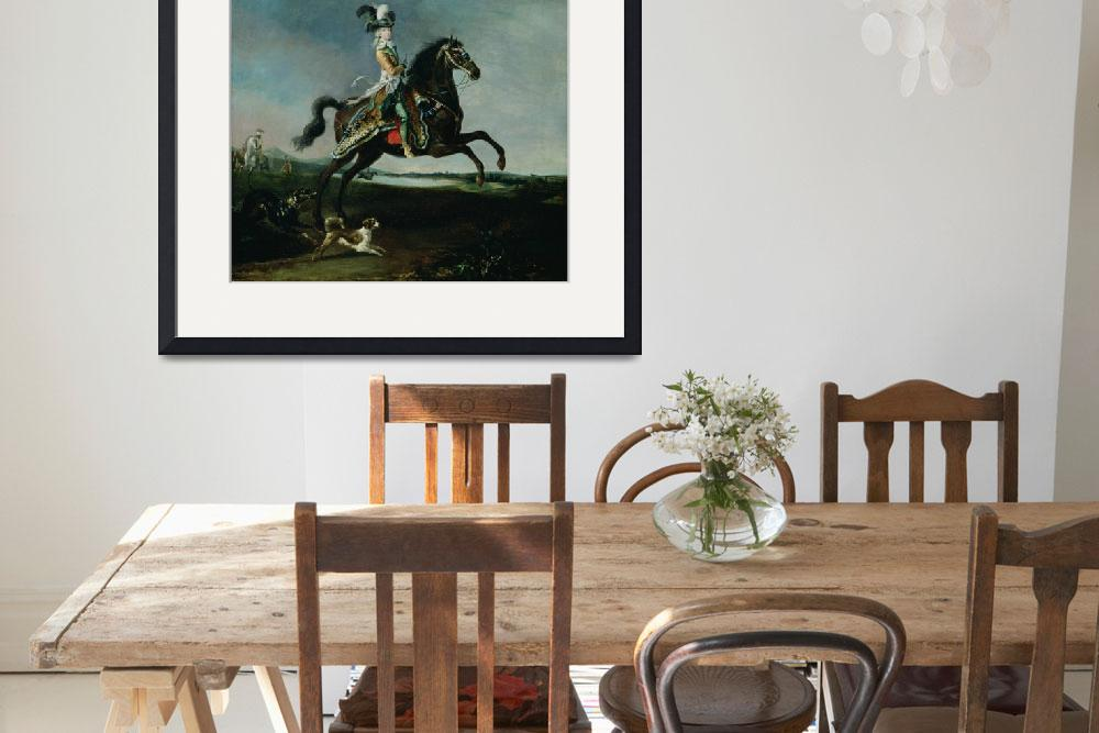 """""""Equestrian Portrait of Marie-Antoinette&quot  by fineartmasters"""