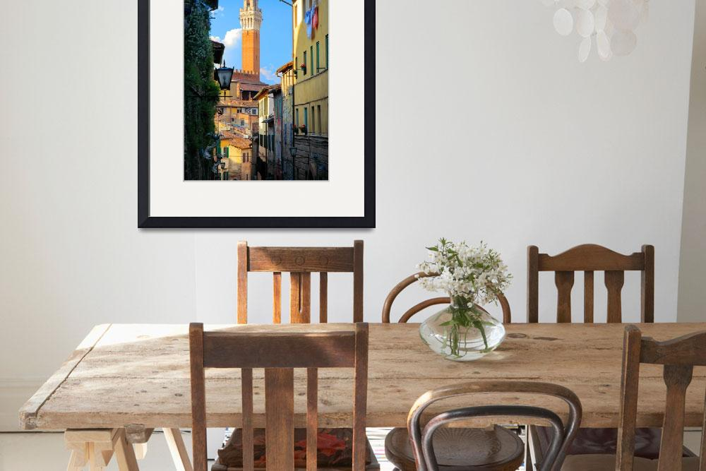 """Siena Streets&quot  (2010) by Inge-Johnsson"