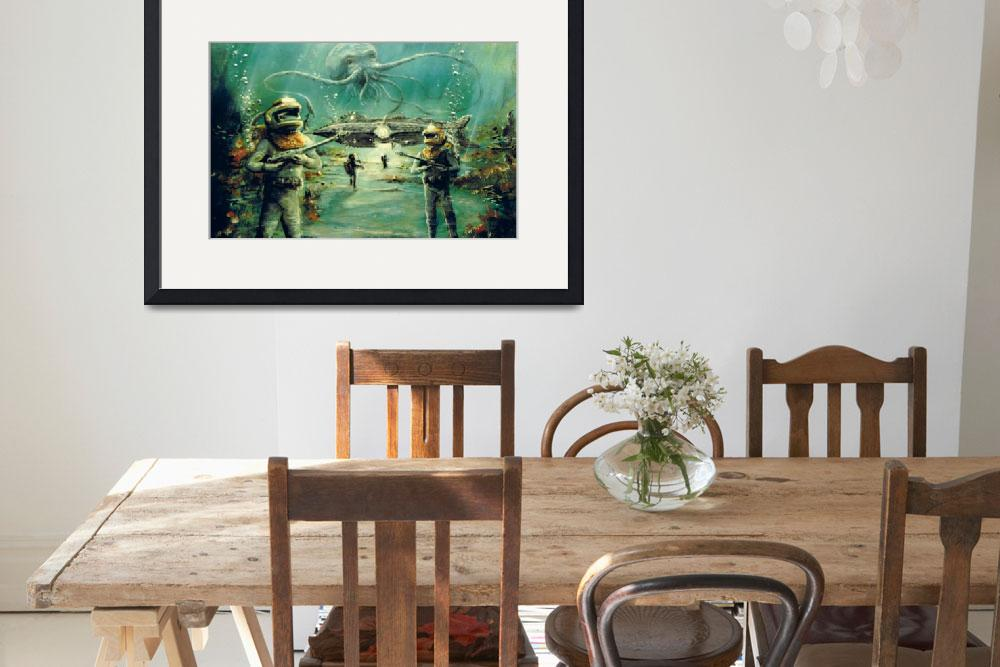 """""""At Forty Fathoms&quot  by billwright"""
