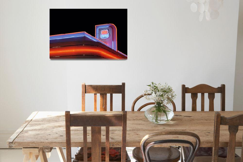 """""""66 Diner&quot  (2011) by christiancarollo"""