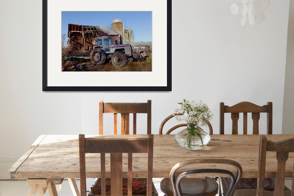 """808 White Farm Equipment Tractor 2-135""  by MatthewLermanPhotography"