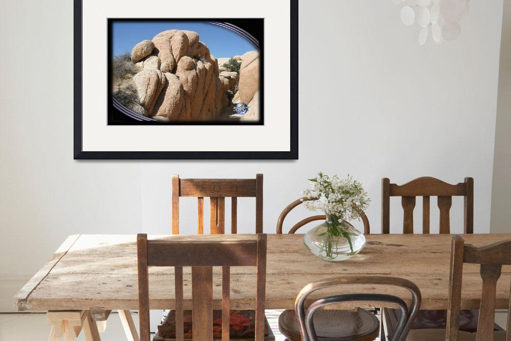 """""""JOSHUA TREE ROCK FORMATION&quot  by sandytravel"""