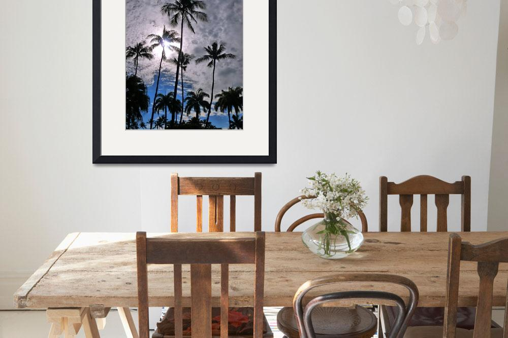 """Coconut Palms""  (2011) by joeyartist"