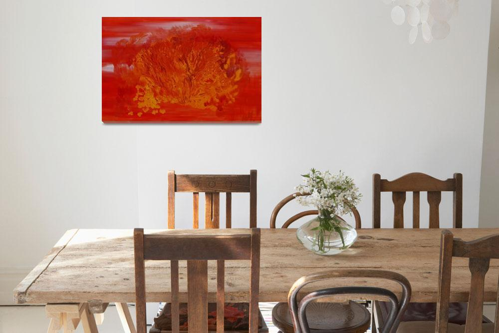 """""""The fiery brush 2&quot  by Milena"""