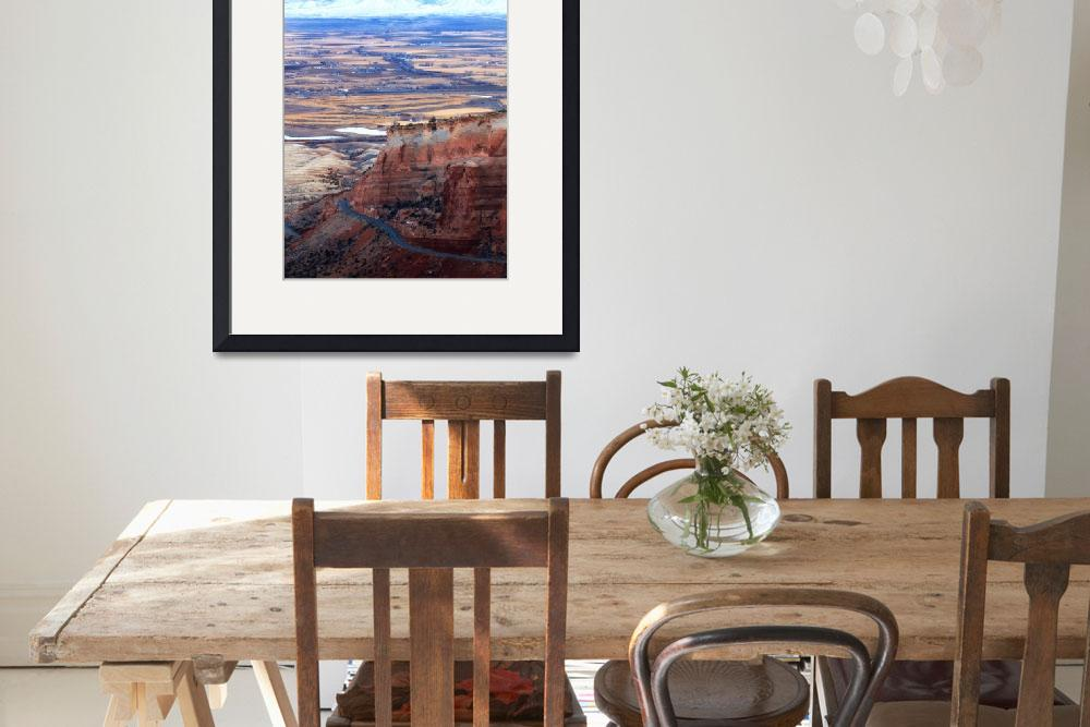 """""""Colorado National Monument&quot  (2012) by RondaKimbrow"""