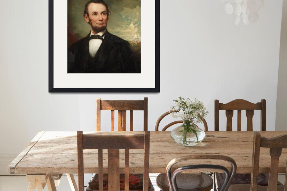 """""""Abraham Lincoln&quot  by fineartmasters"""