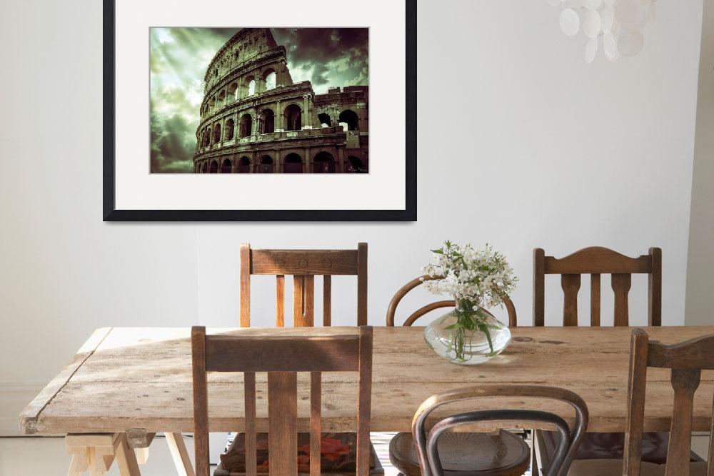 """The Colosseum - Coliseum in Rome Italy&quot  (2015) by annayanev"