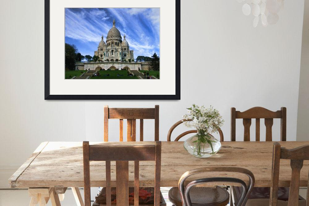 """""""Sacre Couer&quot  (2006) by travelbug"""
