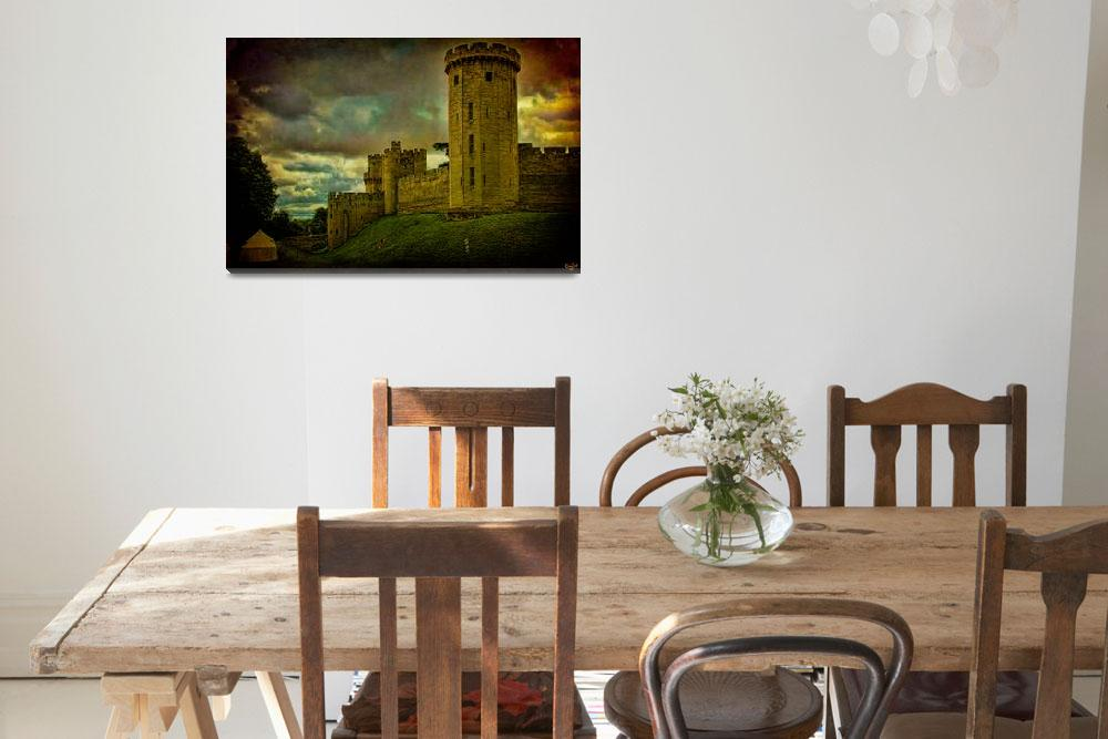 """""""Castle Warwick""""  (2010) by ChrisLord"""