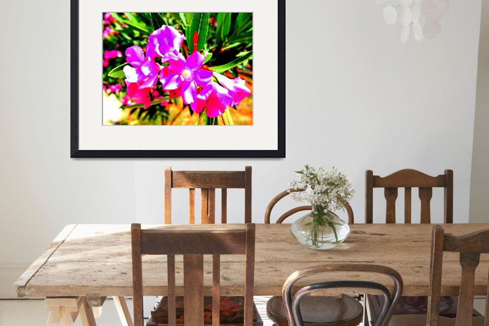 """Abstract Flowers on Cyprus""  by Artsart"