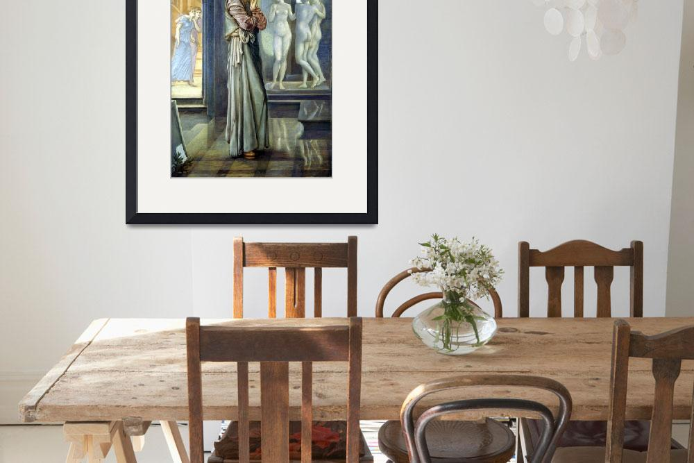 """Edward Burne-Jones Pygmalion and the Image&quot  by PDGraphics"