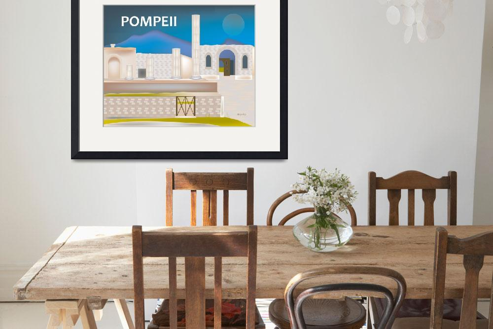 """Pompeii, Italy""  (2011) by loosepetals"