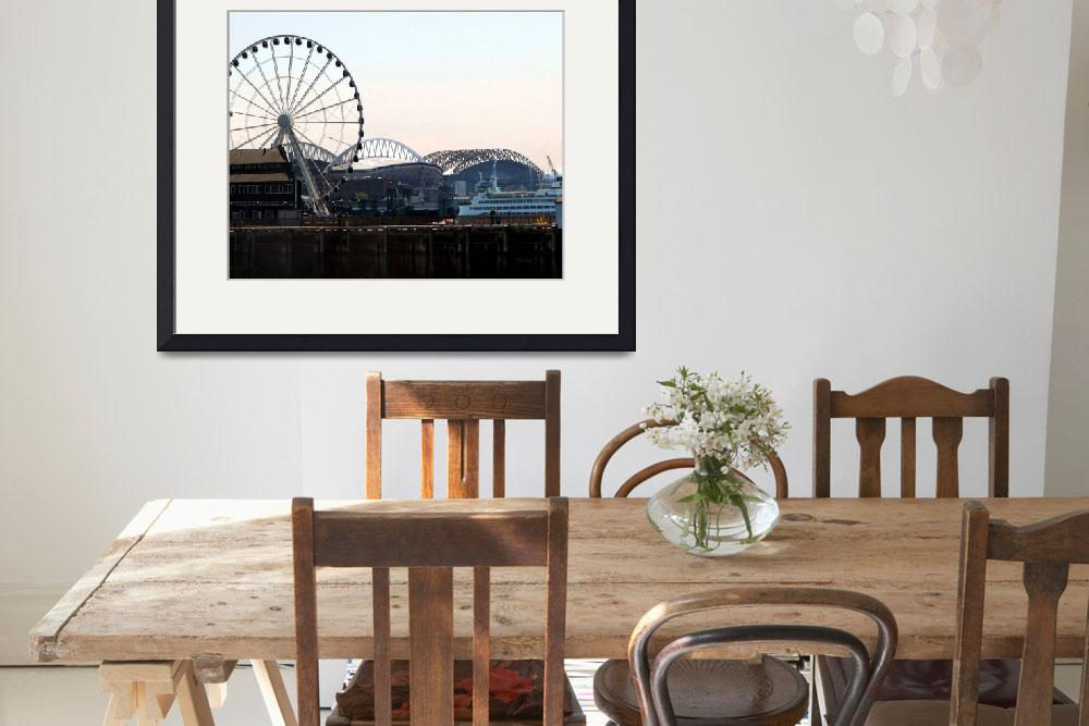 """""""Seattle Waterfront - 2&quot  (2012) by patriciaschnepf"""