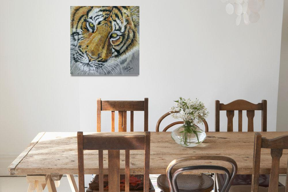 """""""We Three Kings Part I - Tiger&quot  by MichelleWrighton"""