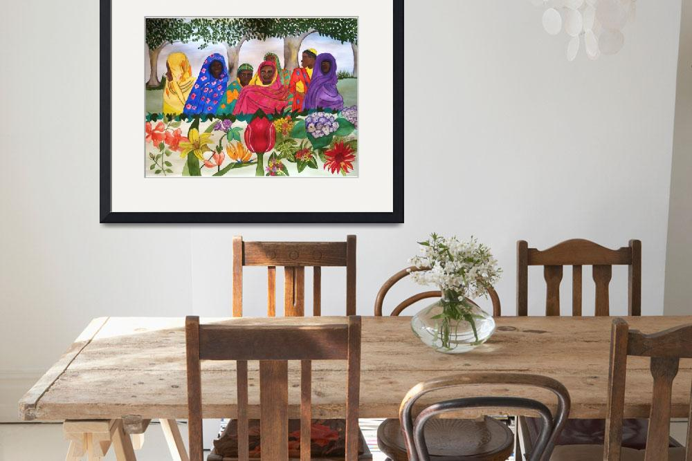 """""""Women of Sudan by Flowers&quot  by Christella"""