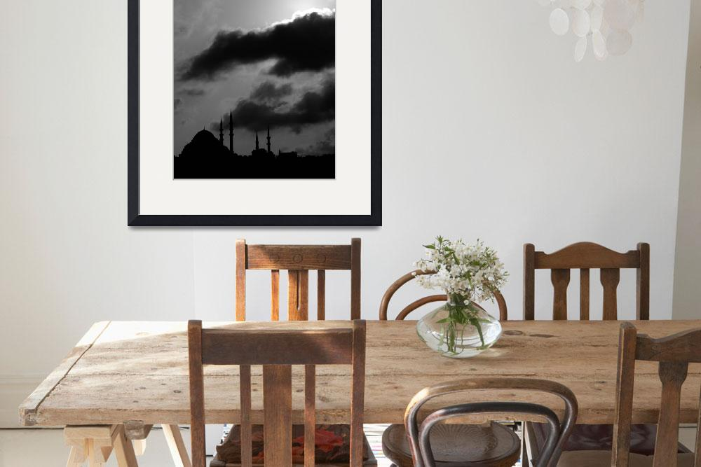 """""""Istanbul - clouds&minarets&quot  by wings_washer"""