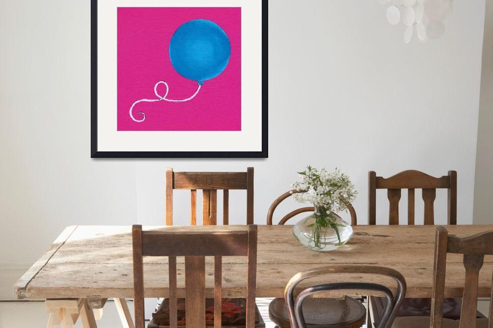"""""""B Is For Balloon&quot  (2010) by LibbyJohnston"""