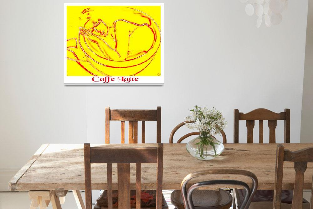 """""""caffe latte&quot  by IVART"""