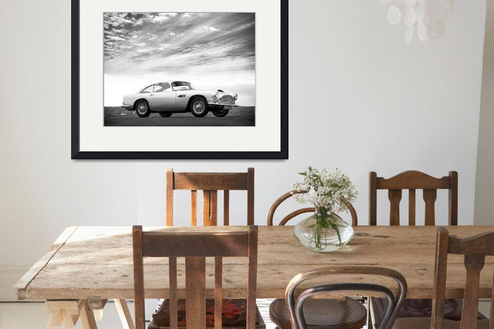 """""""The 1959 DB4&quot  (2010) by mark-rogan"""
