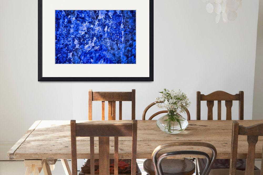 """""""Abstract in Blues #1 on 1 February 2018&quot  (2018) by nawfalnur"""