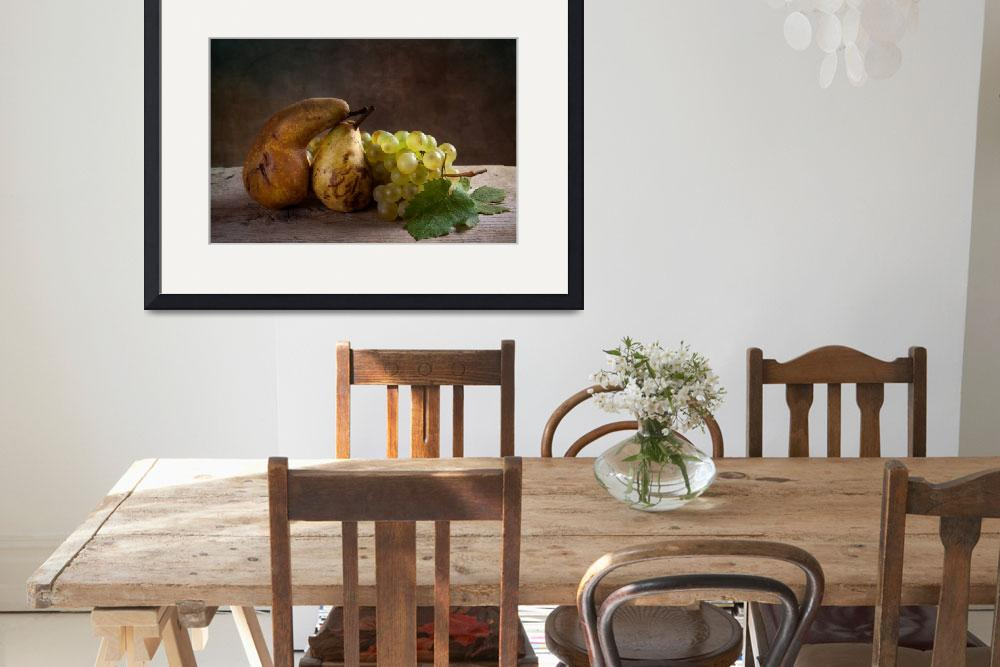 """""""Grapes and Pears&quot  by nailiaschwarz"""