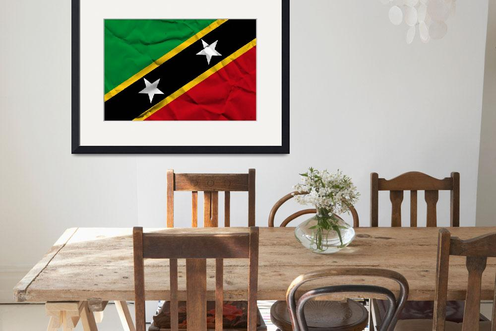 """""""Saint Kitts and Nevis-2&quot  (2014) by thegriffinpassant"""