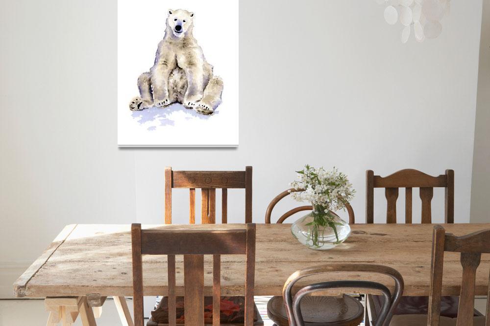 """Polar Bear&quot  (2017) by k9artgallery"