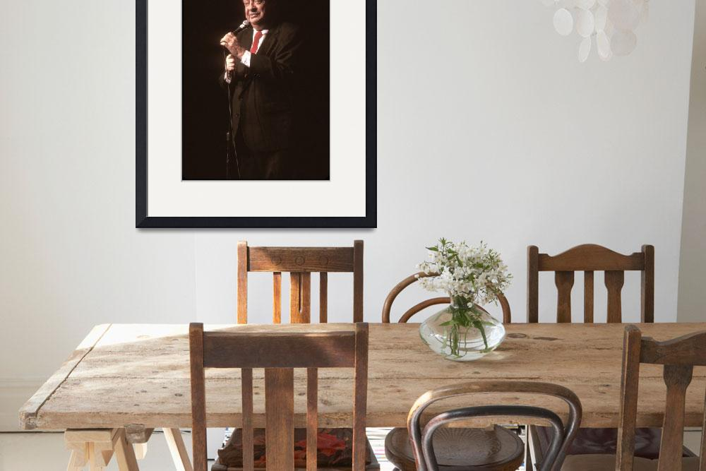 """""""Comedian Rodney Dangerfield&quot  by FrontRowPhotographs"""