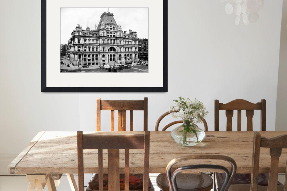 """OLD BOSTON POST OFFICE&quot  by homegear"