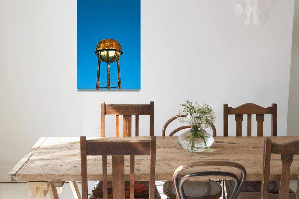 """Water Tower""  (2010) by photoprint"