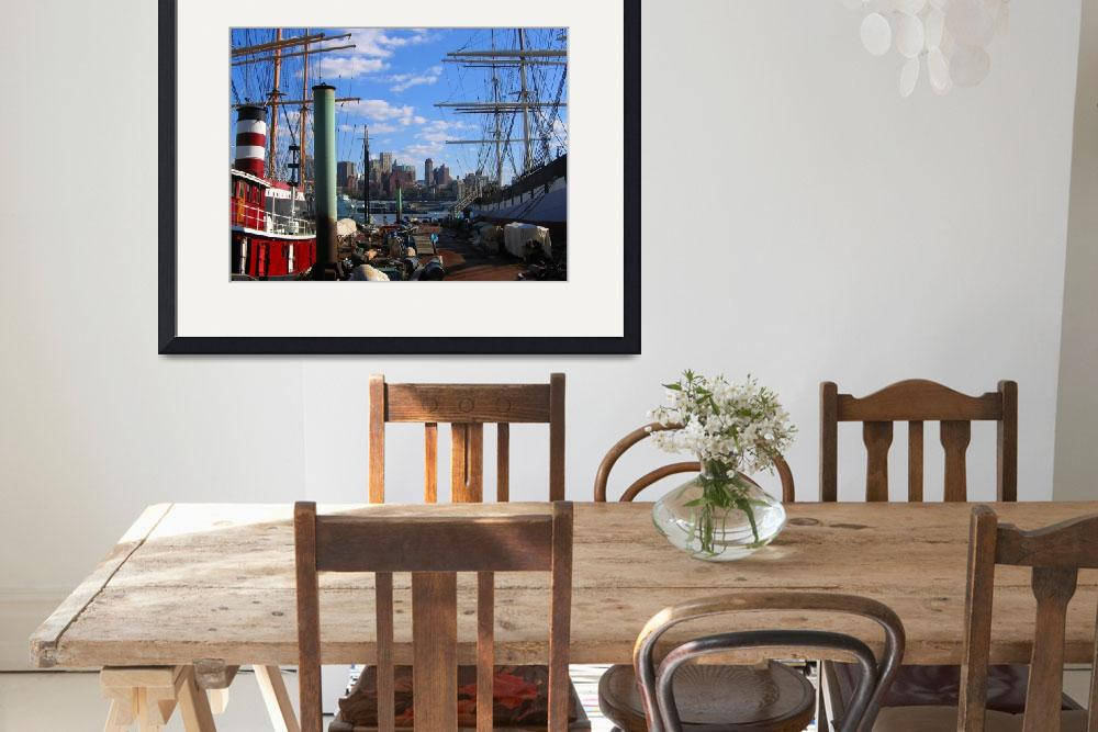 """South Street Seaport&quot  (2007) by sarahdecker"