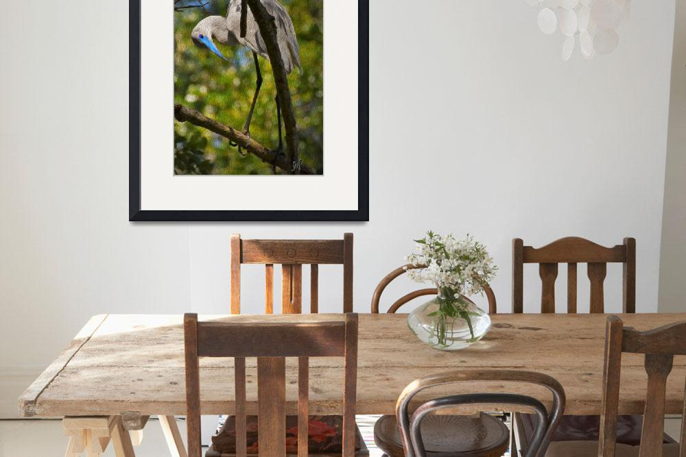 """""""Painted Great Egret&quot  by mjacedesigns"""