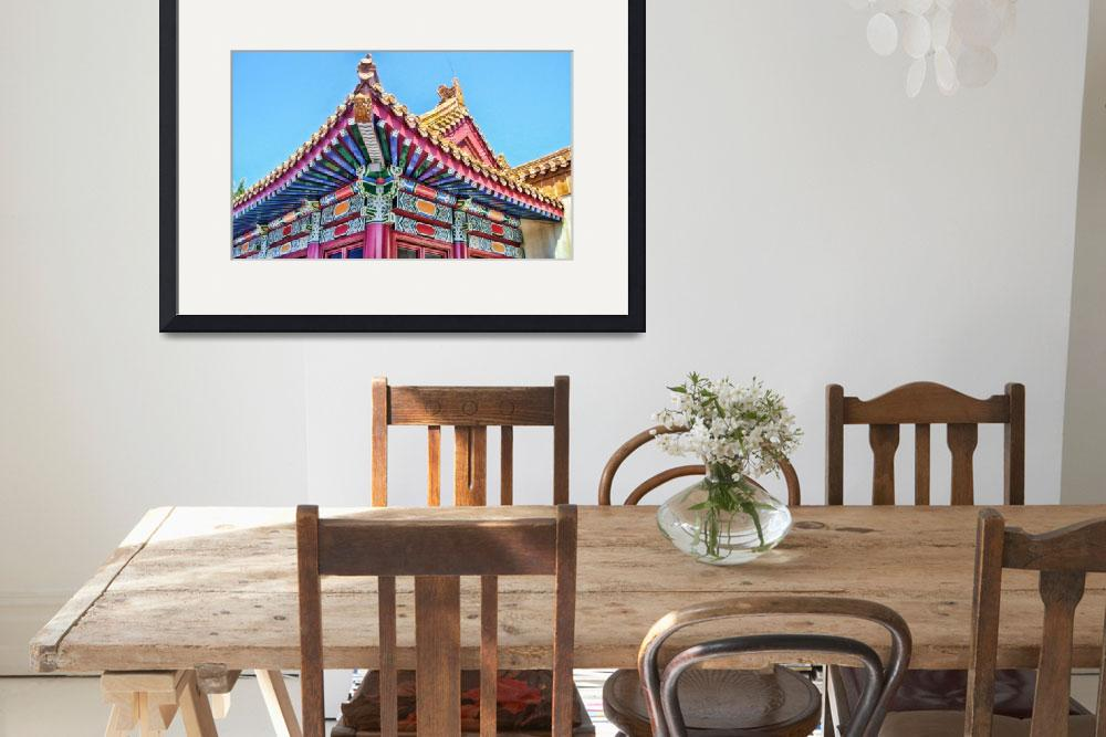 """""""Epcot:  China Gate&quot  by sdecker"""