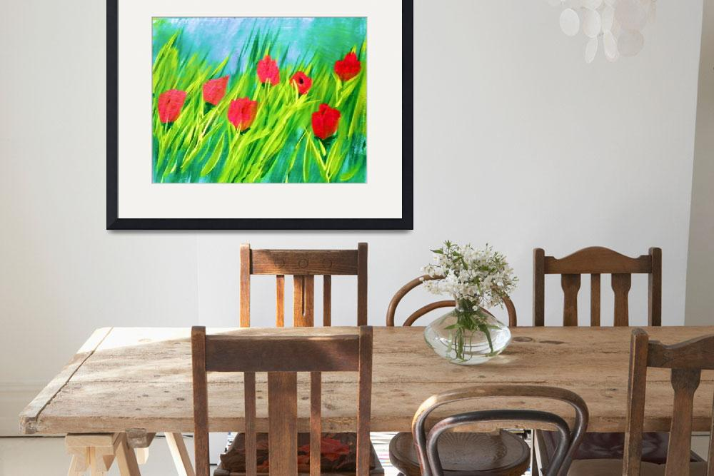 """""""flowers""""  (2011) by Richardsfineartpainting"""