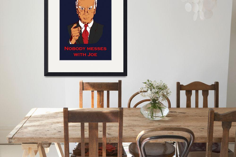 """""""No one messes Biden (vector import)&quot  by aylap"""