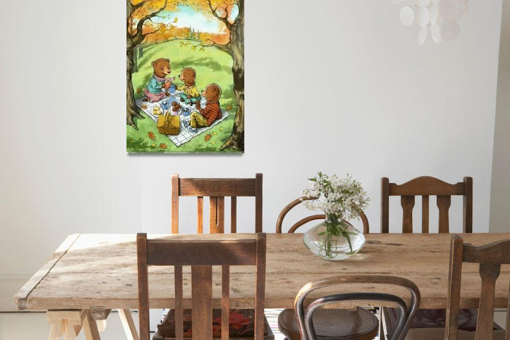 """""""Teddy Bears Picnic&quot  (2010) by KarenLee"""