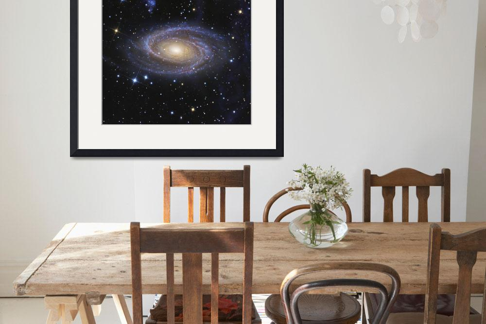 """""""Messier 81 or Bodes Galaxy is a spiral galaxy loca&quot  by stocktrekimages"""