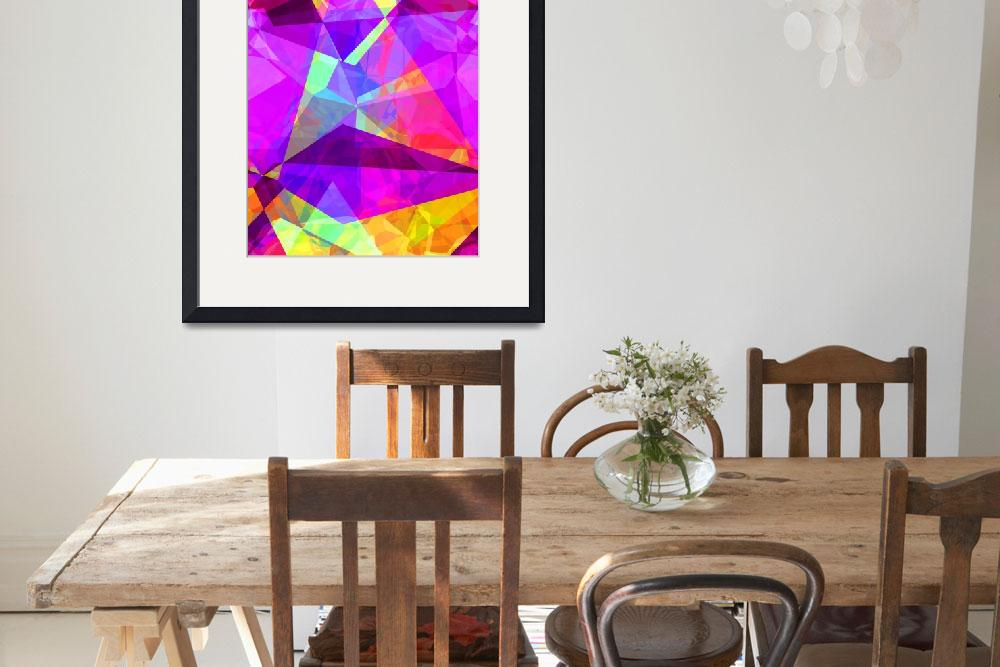"""""""Abstract Polygons 241""""  by ChristopherInMexico"""