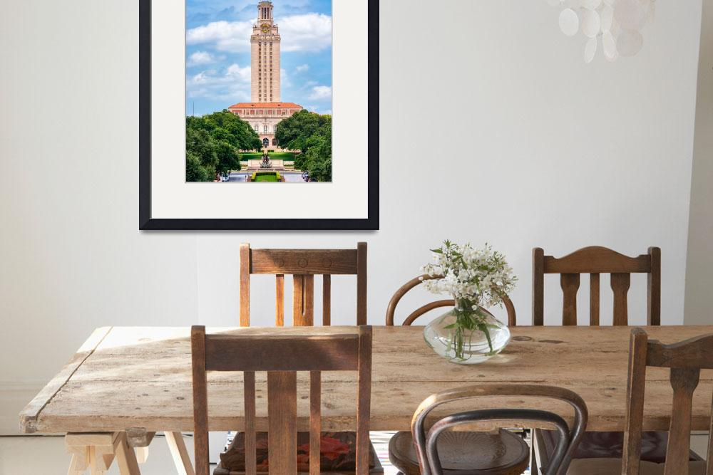 """UT Tower Austin""  (2016) by beecreekphotography"