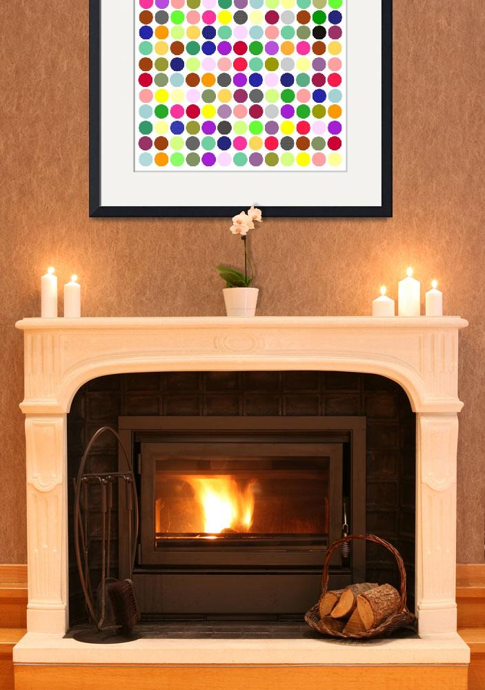 """""""Color Balls Minimalist Poster&quot  by motionage"""