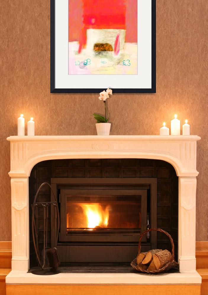 """""""Fireplace&quot  (2013) by Catchy-Little-Art"""
