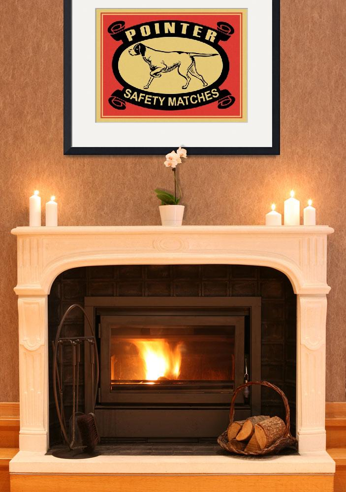 """""""The Vintage Pointer Safety Match""""  by mark-rogan"""